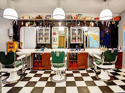 Colour Interior Bosuns Barbers